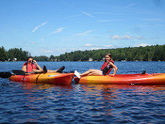 Summer Camp Canoe